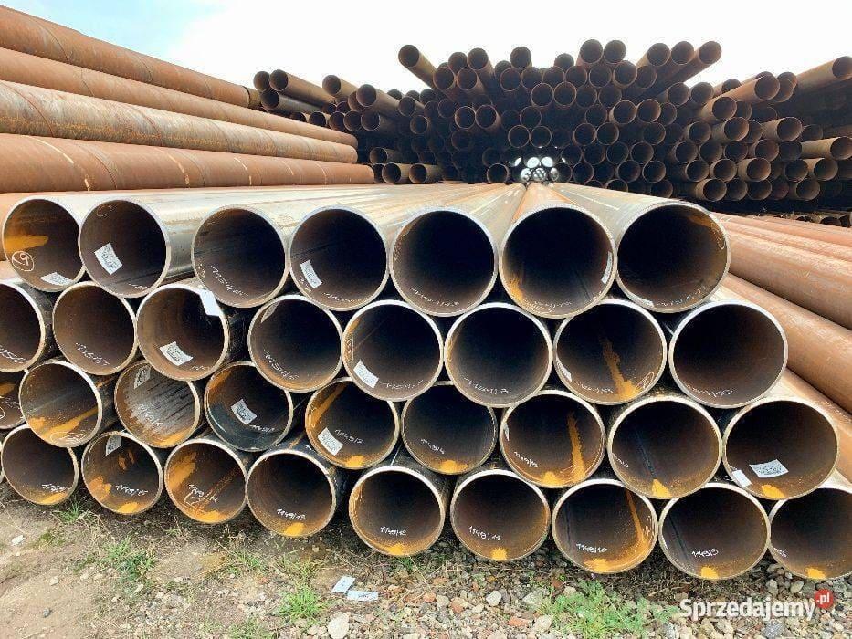 Rury z demontażu - hossa stal - hurtownia stali